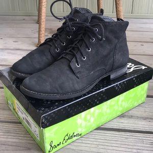 Sam Edelman Shoes - Sam Edelman Black Lace Up Bootie sz8